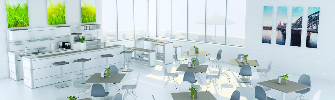 Kommunikation & Bewirtung - Klain Büromöbel