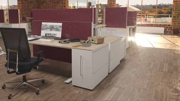 Flexible Büromöbel Arbeitsplatzkonzepte Klain Büromöbel